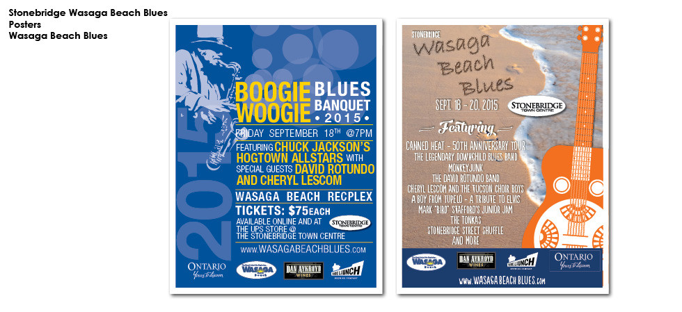 Stonebridge Wasaga Beach Blues Posters